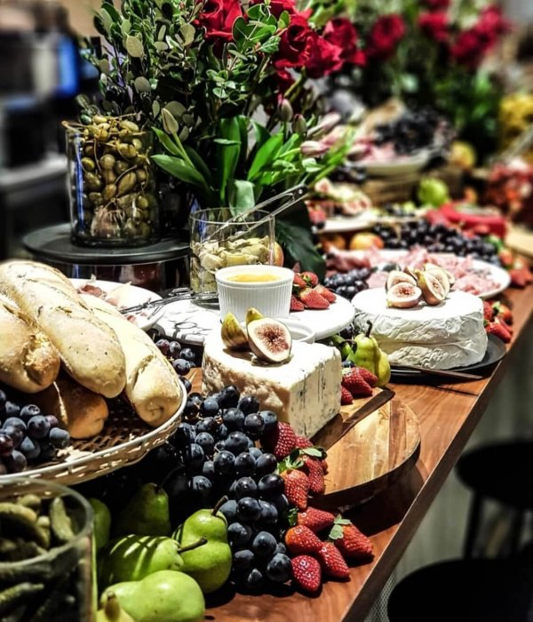 Corporate Private Wedding Food Catering Capanes Arrangements & Styling Dish Catering